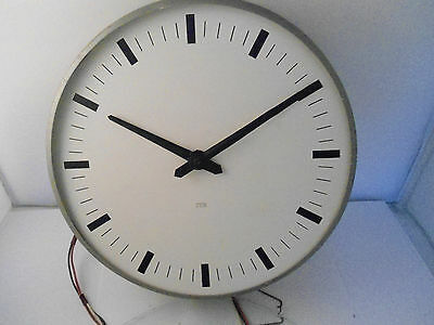 ENGLISH 1950s ITR Vintage Retro Midcentury Industrial Factory Clock School SPARE