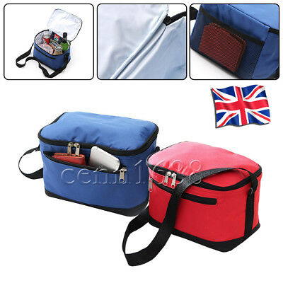 Portable Picnic Lunch Bag Insulated Storage Thermal Cooler School Office Camping