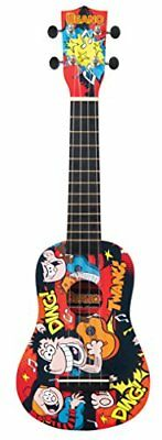 The Beano Real Musical Instruments BNUK02 - Ukelele, color rojo