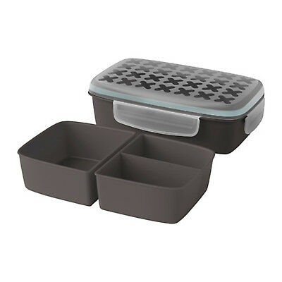 IKEA Separated Lunch Box Bento Picnic Fruit Food Storage Containers Microwave