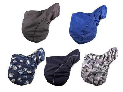 Saddlecloth, Saddle cover fleece lined, water resistant, 5 various Designs
