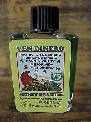 Money Drawing Oil Spell Supplies Spells anointing Oil charm bags Witchcraft