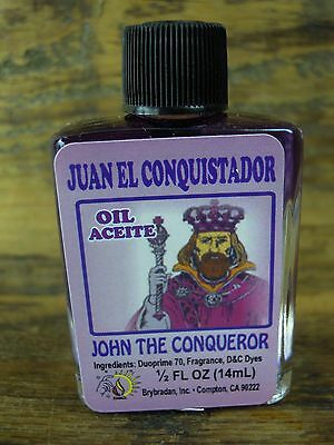 John the Conqueror anointing Oil Spell Supplies spells charm bags Witchcraft