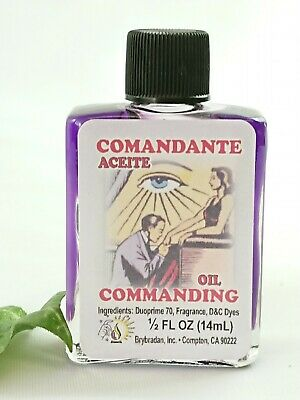Commanding oil anointing magical oil spell supplies spells witchcraft Occult