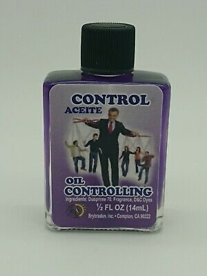 Controlling oil anointing magical oil spell supplies spells witchcraft Occult