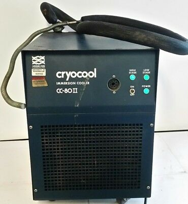 Neslab CC-80 II Cryocool Immersion Cooler Chiller As-Is Cools