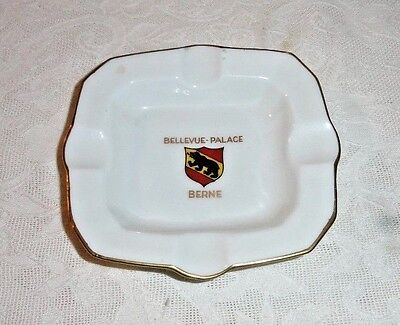 Vintage Advertising Bellevue-Palace Berne Collectible Ash Tray