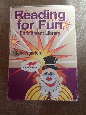 Reading For Fun Kindergarten Enrichment Library Complete Set Beka Books