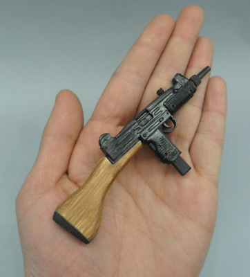 1/6 Scale Soldier Model Weapon Israeli Army Uzi Submachine Gun