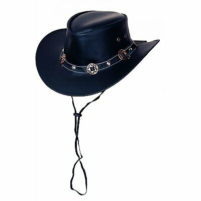 Rugged Earth Concho Hat, various sizes brown Size:XL