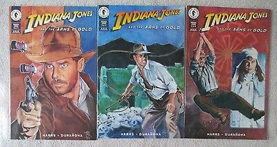 INDIANA JONES and THE ARMS OF GOLD - Three Issue Lot - #2, #3, and #4
