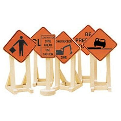 Lionel O Construction Zone Signs #2, 6-81064