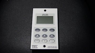 TEL AFA 1000/2 MK2 Fume Hood Monitor including sensor adapter