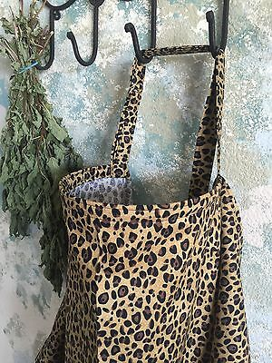 NURSING COVER hider* BREASTFEEDING  apron USA MADE  with pocket cheetah
