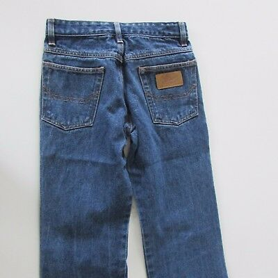 R.M WILLIAMS Kids Blue Denim Jeans - STRAIGHT - Size 10 W24 L25 (Q1)