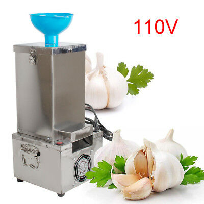 Garlic Peeling Machine Electric Garlic Peeler 110V Household and Commercial DRY
