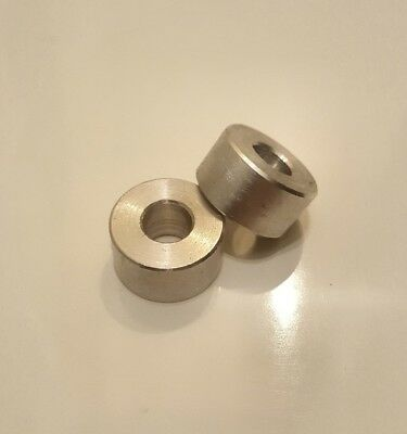 spacer sleeve PICK LENGTH M14 Clearance Stainless Steel 25mm O//D washer