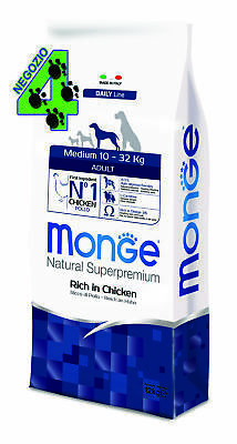 Monge Superpremium Medium Adult Cane 12 kg