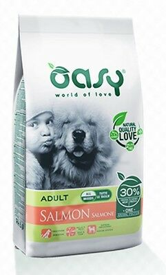 Oasy Dog Adult All Breed Salmone 12 kg Monoproteico