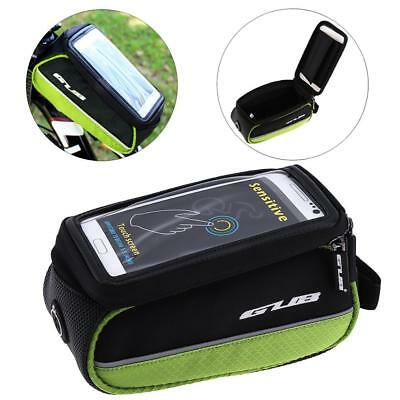 """G909 Bike Bicycle Road MTB Front Top Tube Bag Pouch Cell Phone Touch Screen 5.5"""""""