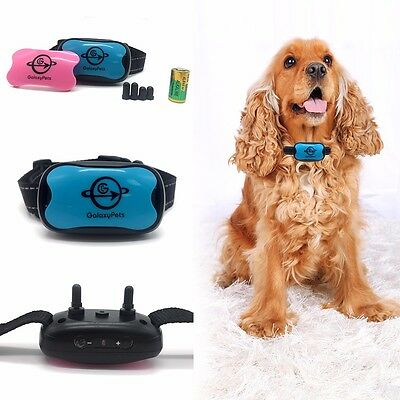 Best quality anti bark dog training collar stop bark no shock sound & vibration