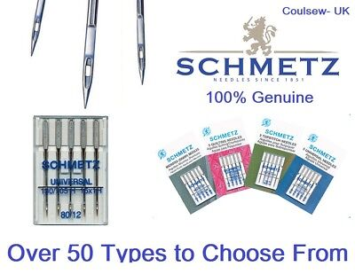 SCHMETZ Sewing Machine Needles MASSIVE RANGE in stock - Choose your type