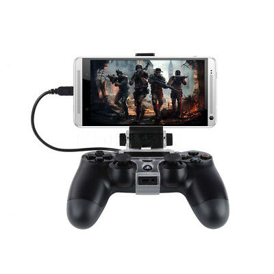 Mobile Phone Clamp Gamepad Clip Mount Holder for PS4 Controller