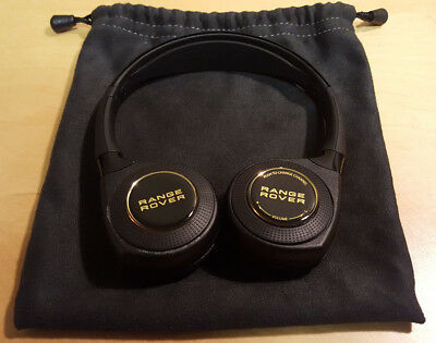 Brand New Gold Land Rover Range Rover Evoque Sports In Car Wireless Headphones