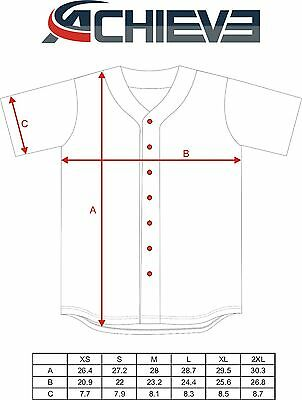 12 Custom designed and Printed COLOR Baseball Jersey - $38.5 each