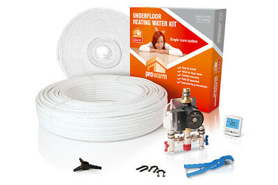 ProWarm standard output water underfloor heating kit - all sizes in this listing