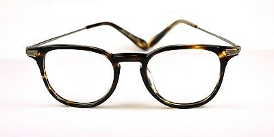 Oliver Peoples Ennis Eyeglasses col. 1003 Coco-Ant. Gold size 48 New