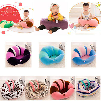 Newborn Baby Support Seat Sit Up Chair Cushion Sofa Cotton Plush Pillow Toy