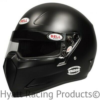 Bell Vador Auto Racing Helmet Snell SA2015 (ALL SIZES & COLORS)