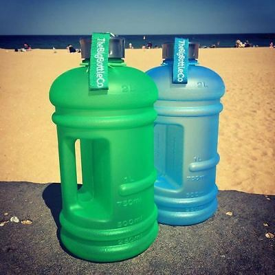 The Big Bottle Co: Limited Edition Frosted Green 2.2l Water Bottle
