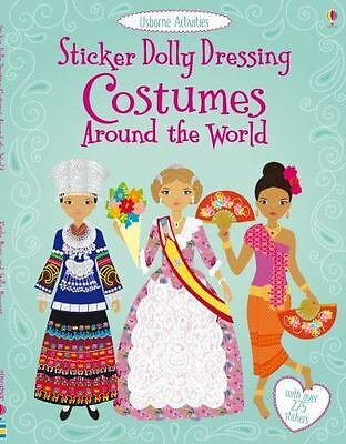 Sticker Dolly Dressing Costumes Around the World by Usborne Activities 2013