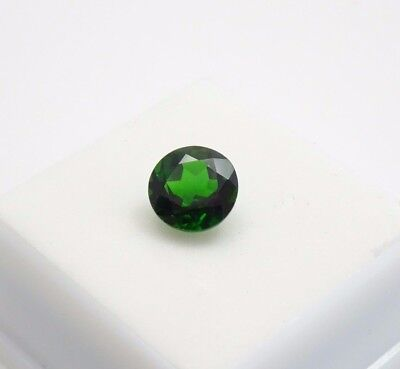 Russian Chrome Diopside 2.90ct - 9mm - Round - Loose Gemstone