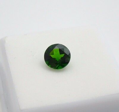 Russian Chrome Diopside 1.70ct+ - 8mm - Round - Loose Gemstone