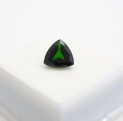 Russian Chrome Diopside 2.91ct - 9x9mm - Trillion - Loose Gemstone