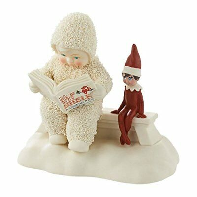 Snowbabies Department 56 Guest Collection Elf on the Shelf Listens Story