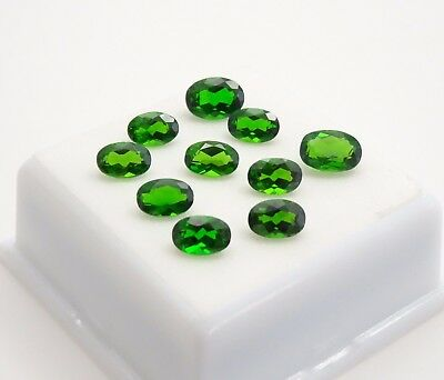 Russian Chrome Diopside 5.80CTW - Oval Parcel - Loose Gemstone