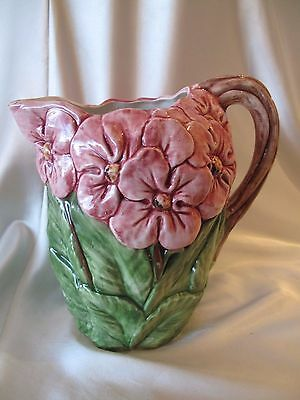 Unique & Gorgeous Hand Made Italian Majolica Jug