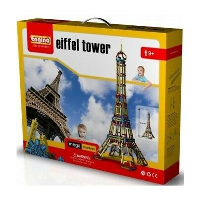 Engino Eiffel Tower Mega Structures Brand New