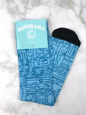 Futurama Planet Express Socks Nerd Block Exclusive