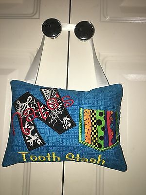 Tooth Fairy Pillow Personalised Boys