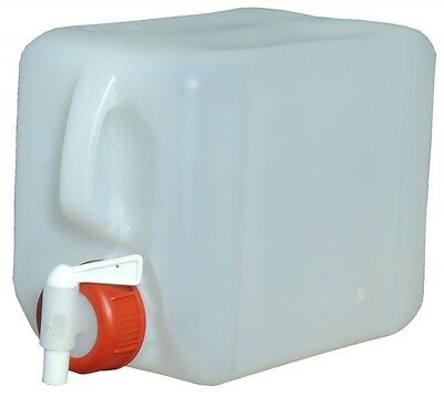 2 x 5L Canister Water canister+ 1 Drain cock food-safe (5,48€/1pc)
