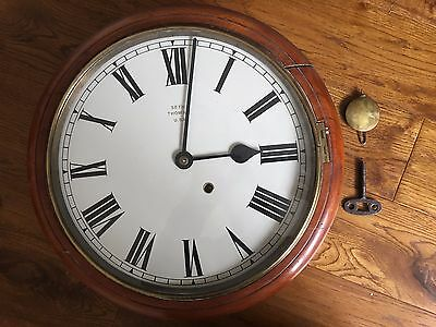 Antique Seth Thomas School/railway Clock