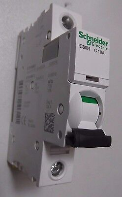 SCHNEIDER ACTI9 iC60N C10 AMP TYPE C10A 10A SINGLE POLE / PHASE BREAKER MCB