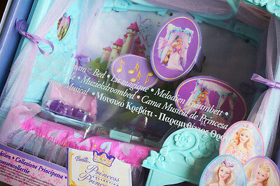 BARBIE MUSICAL DREAM BED (PRINCESS Collection, 2003). BRAND NEW IN BOX OLD STOCK