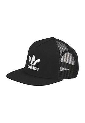 Adidas Originals Mens  Trefoil Trucker Cap Snapback  Mesh Hat One Size Free Post