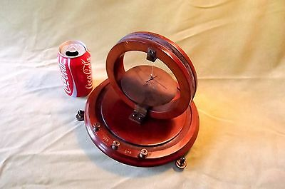 m, TANGENT GALVANOMETER, VICTORIAN, {PHYSICS} UNSIGNED, LOVELY CONDITION